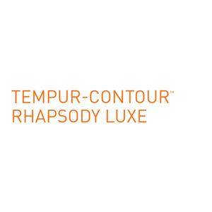 Tempur-Pedic® TEMPUR-Contour Rhapsody Luxe Queen Medium Firm Mattress Mattress and Tempur-Up Adjustable Grey Foundation