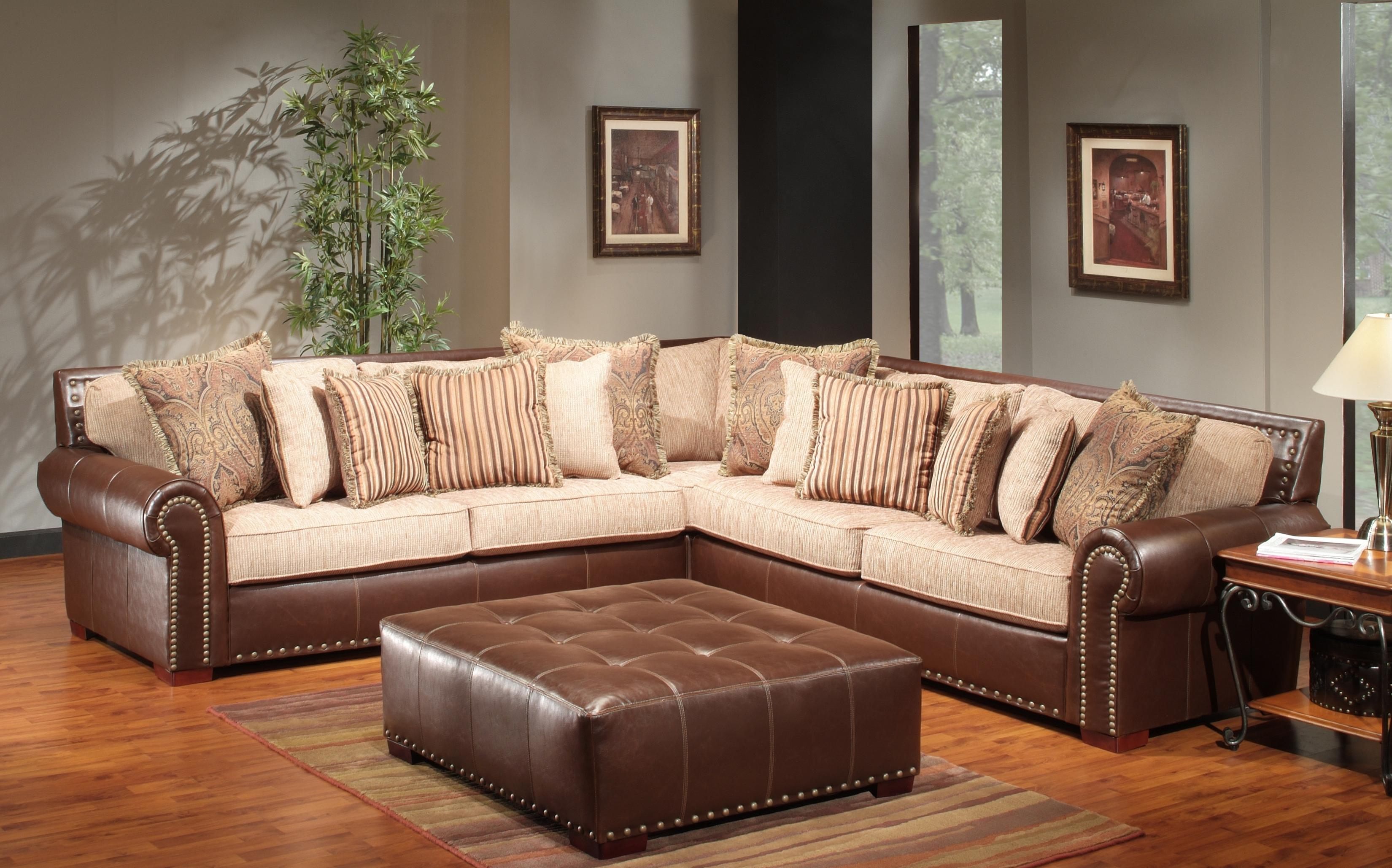 The Rose Hill Company 1973 Two Tone Sectional Sofa Furniturewebsite