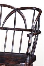 Triple Arched Hoop-Back with Turned Arm