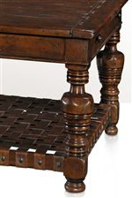 Pristine Turned Legs Influenced By 17th Century European Designs