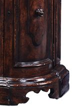Intricately Carved Bracket Feet on Chianti Buffet