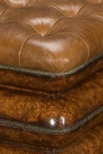 Upholstered Accent Pieces are Created for Heirloom Comfort with the Finest of Fabrics