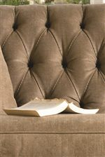 Deep Tufted Upholstery is Chic and Elegant with a Touch of Tradition taken to Contemporary Extremes