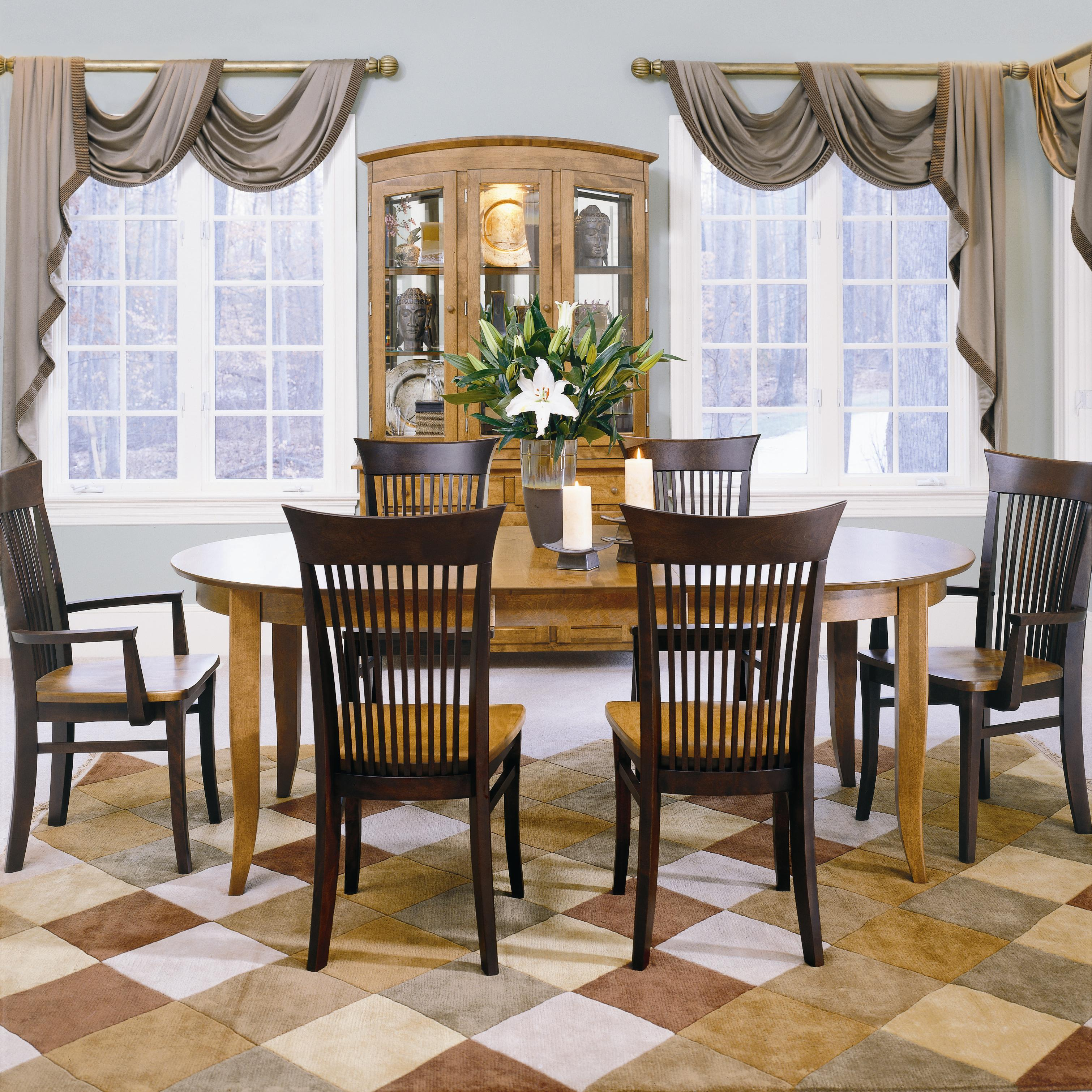 Color Café Custom Dining set 005 by Thomasville Adcock