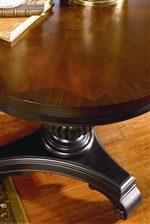 Rich Veneer Table Top