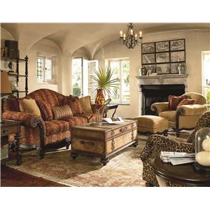 Thomasville Ernest Hemingway 462 Exposed Wood Anson Chair BigFurnitureWebsite Exposed Wood