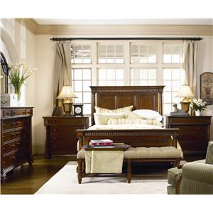 Thomasville® Fredericksburg Demilune Sofa Table with One Drawer