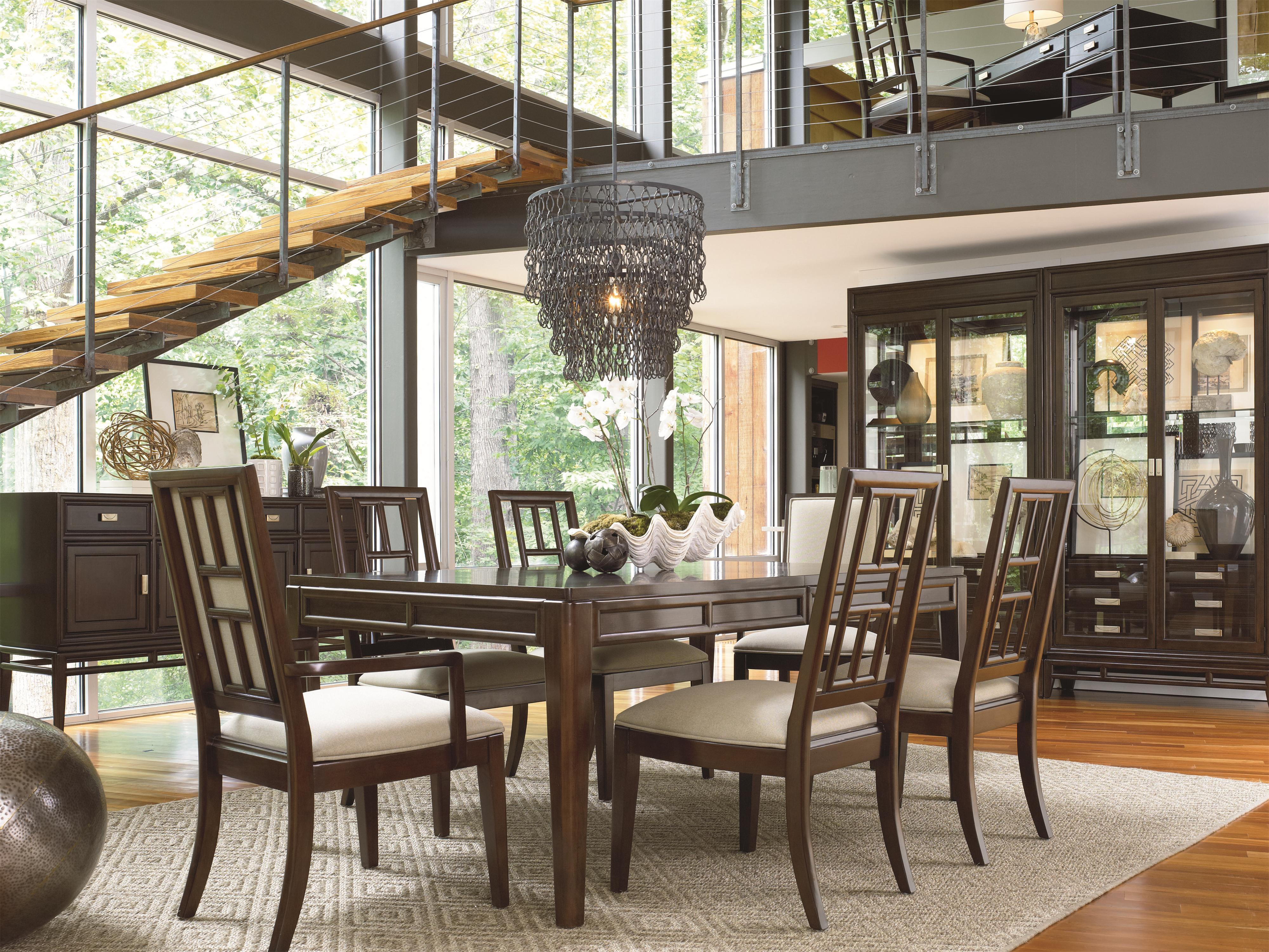 Thomasville Dining Room Sets Lantau 826 By Thomasvillear Baer39s Furniture Thomasville
