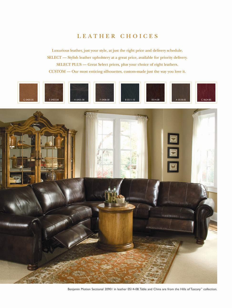 Leather Choices Metro 20923 By Thomasville Sprintz Furniture Dealer