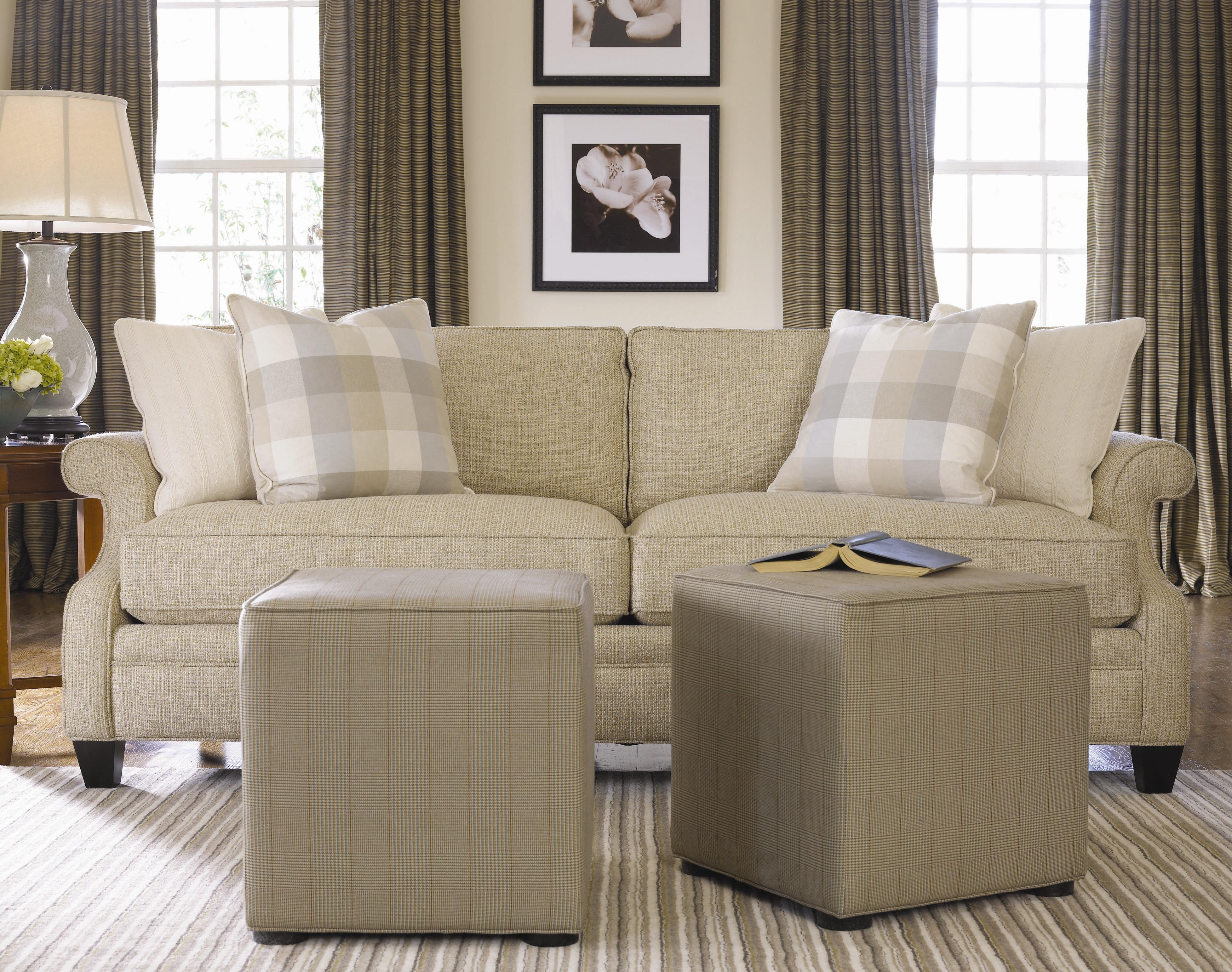 Thomasville Living Room Furniture Thomasvillear Mercer Series Sectional With Panel Arms Adcock