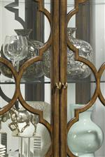 Quatrefoil lattices add a timeless feel of glamour