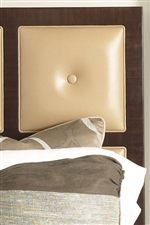 Leather Panel Headboard