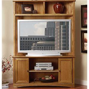 Thornwood 23 1000 Corner Entertainment Hutch And Console