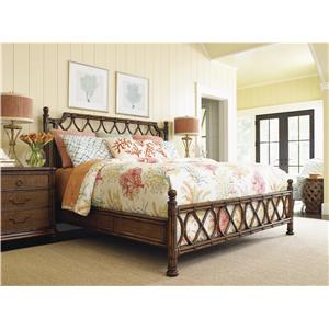 Tommy Bahama Home Bali Hai Bedroom Group