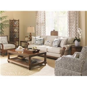 Tommy Bahama Home Bali Hai Stationary Living Room Group