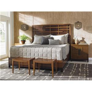 Tommy Bahama Home Island Fusion CK Bedroom Group