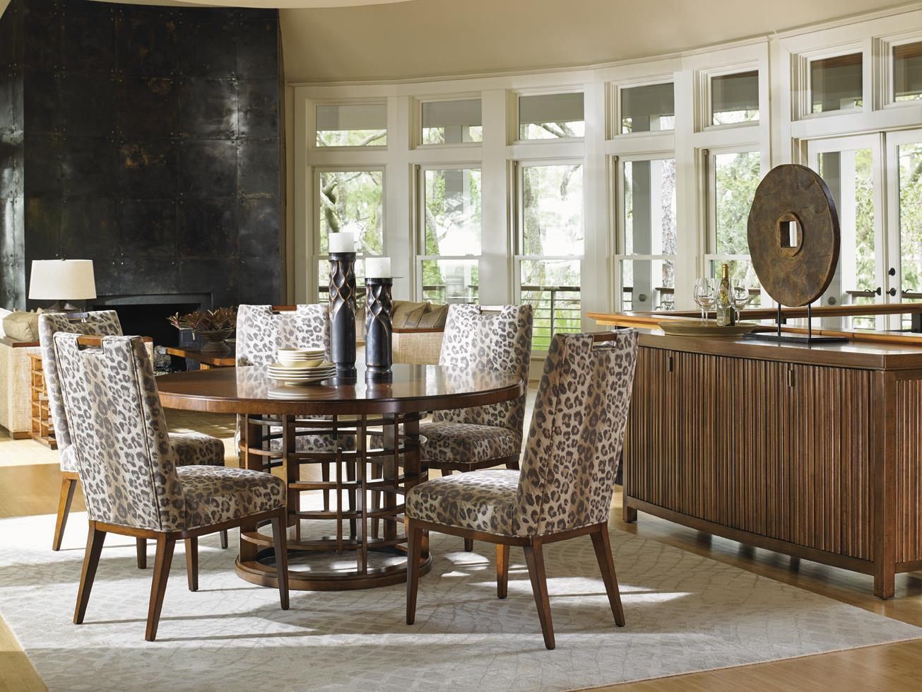 Island Fusion Dining Room Group by Tommy Bahama Home at Baer's Furniture