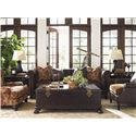 Tommy Bahama Home Island Traditions Stationary Living Room Group - Item Number: 548 living  Room Group 1
