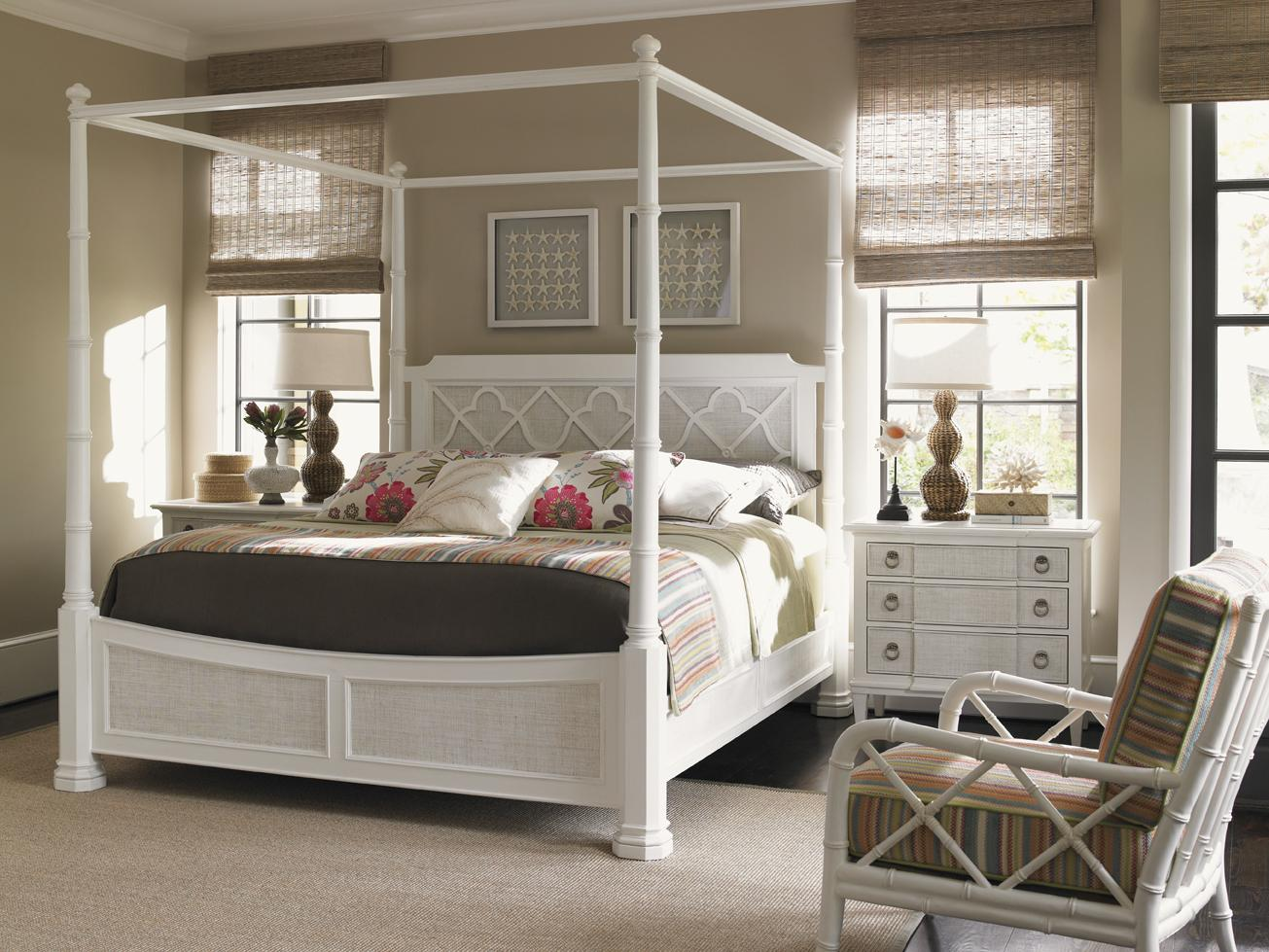 Ivory Key King Bedroom Group by Tommy Bahama Home at Baer's Furniture