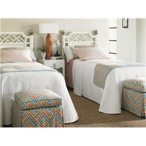 Tommy Bahama Home Ivory Key Twin Bedroom Group