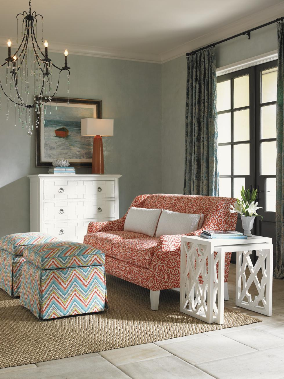 Ivory Key Stationary Living Room Group by Tommy Bahama Home at Baer's Furniture