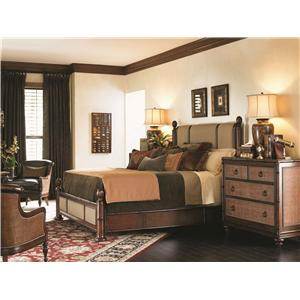 Tommy Bahama Home Landara Queen Poster Bedroom Group