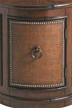 Woven Raffia Panels