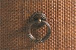 Burnished Brass Ring Pull Hardware