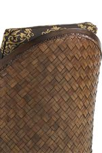 Natural Materials Like Woven Rattan and Raffia