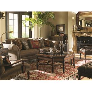 Tommy Bahama Home Landara Stationary Living Room Group