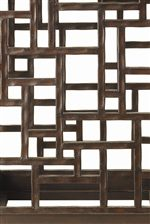 Metal Accents and Geometric Patterns Offer Textural Interest