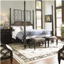 Tommy Bahama Home Royal Kahala Queen Bedroom Group - Item Number: 537 Q Bedroom Group 5
