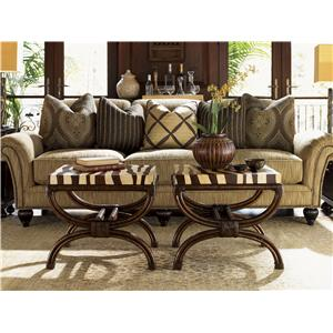 Tommy Bahama Home Royal Kahala Ginger Exposed Wood Chair