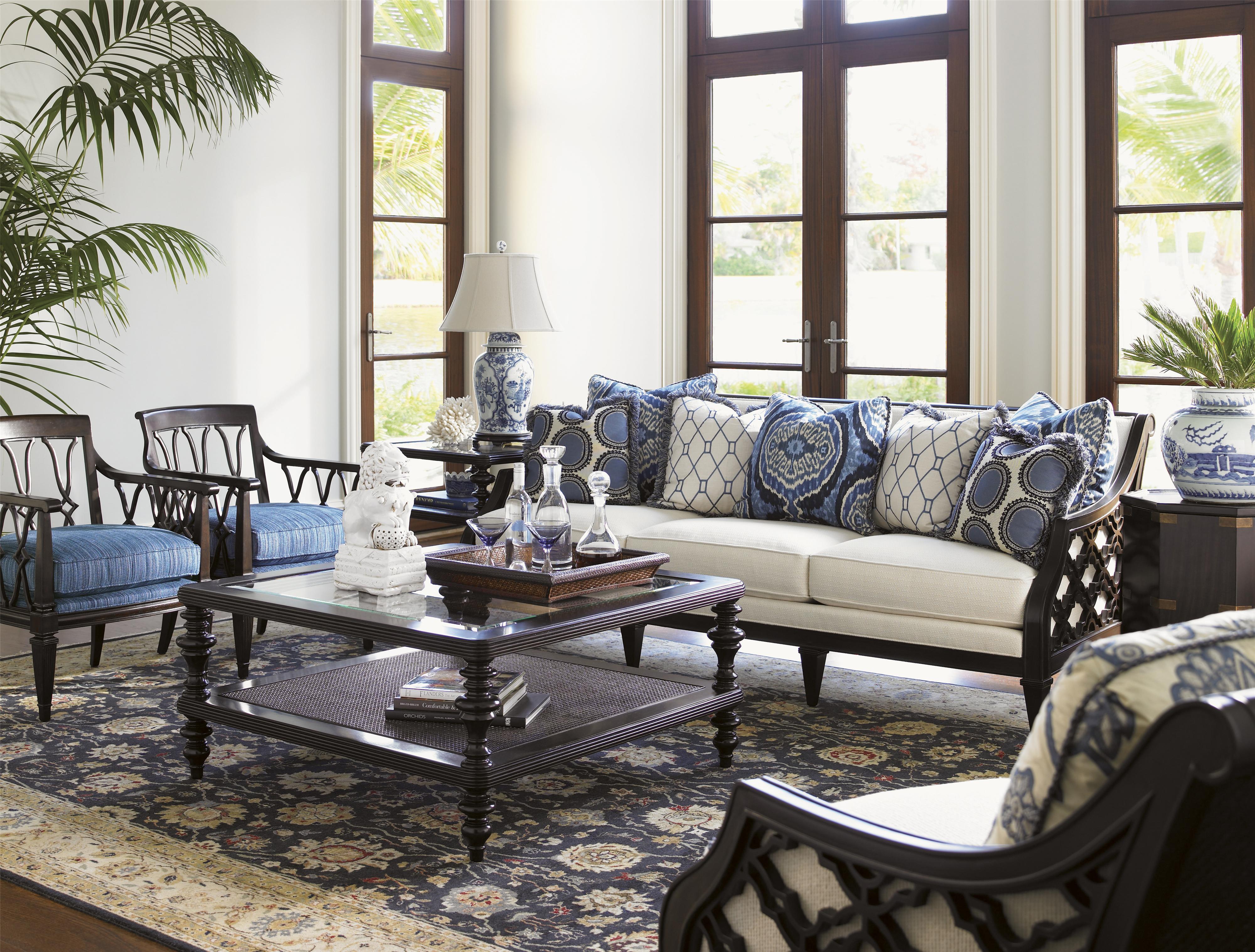 Royal Kahala Leather By Tommy Bahama Home Hudson S Furniture Dealer