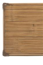 Crushed Bamboo Tops and Drawer Fronts are Mixed Throughout the Collection
