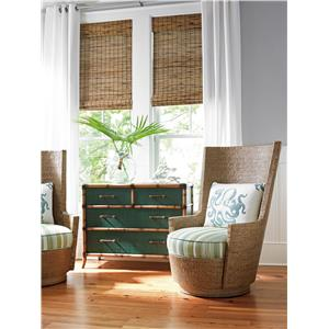 Twin Palms_Teal by Tommy Bahama Home