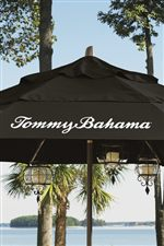 Umbrellas Feature Silk Screened Tommy Bahama Logos