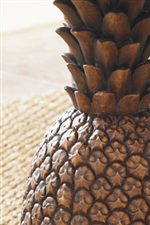 The Life-Like Detail of the Pineapple Base Adds Class and Value to this Particular Table