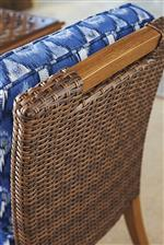 All-weather wicker is incredibly durable and resistant to fading, staining, stretching, and cracking