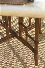 Lattice and Diamond Design Used for Table Bases