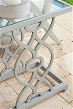 Decorative Curves and Intricate Fretwork Give this Collection a Soft, Elegant Feel