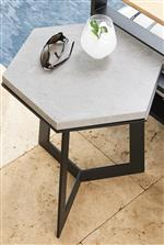 select tables feature slate-gray stone tops