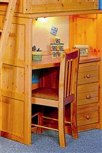 Multi-Purpose Lofted Bed Ends