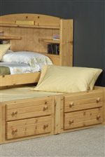 Under-Bed Trundle and Storage Options