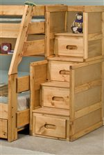 Stairway Chests For Use with Bunk Beds