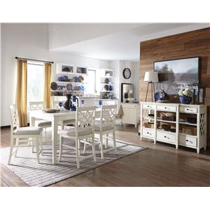 Trisha Yearwood Home Collection by Klaussner Trisha Yearwood Home Casual Dining Room Group