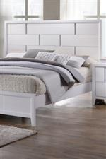 Panel bed Headboard