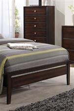 Wood Low Profile Footboard