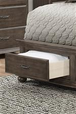 Storage Footboard