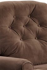 Button Tufted Seat Back